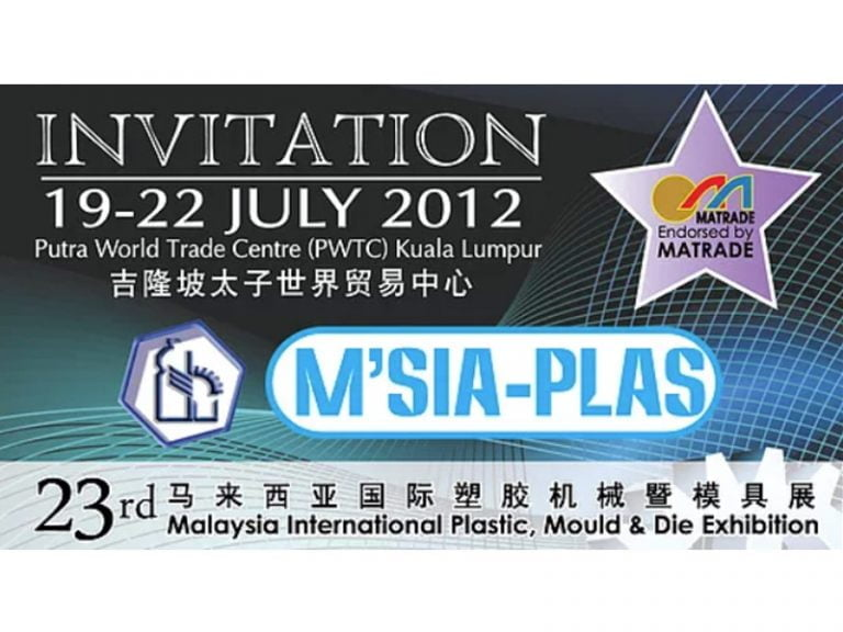 Malaysia International Plastic, Mould & Die Exhibition 2012